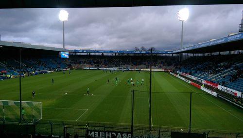 Testspiel in Bochum